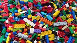 Lego-LOT-100-Bulk-ALL-BRICKS-BLOCKS-Mixed-Sizes-Basic-Building-Pieces-Mix