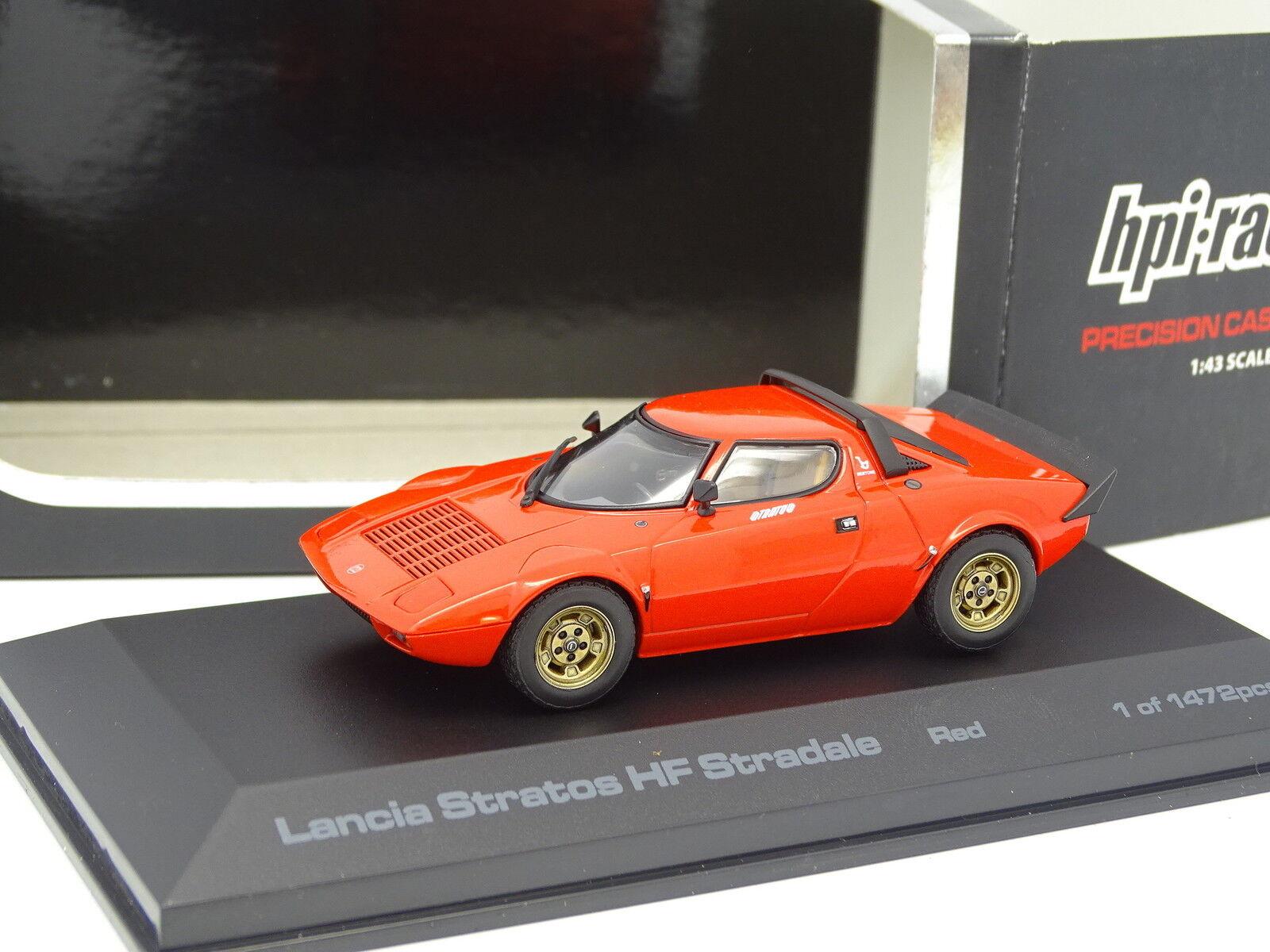 HPI Carreras 1 1 1 43 - Lancia Stratos HF red 62a86b