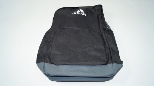 Nuovo  ADIDAS TIRO Backpack Zaino da tennis nero grigio Borsa Zaino New