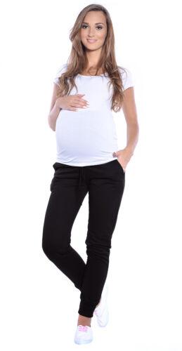 Casual Schwangerschaftshose mit extra Bauch-Panel Mija Umstandsmode 4060