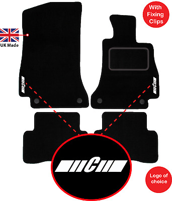2011-Onwards Exact Fit Tailored Car Mats Mercedes C Class Coupe