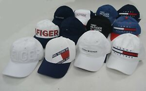 NWT Tommy Hilfiger Cotton Baseball Cap Men Women Unisex Hat One Size ... 667f5625ae28