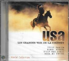 CD 15T USA LES GRANDES VOIX DE LA COUNTRY PARTON/MILLER/RUSTY DRAPER/ROGERS ..