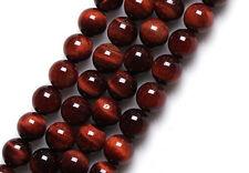 "TWO (2) 16""  Strands 4mm RED TIGER EYE Gemstone Beads"