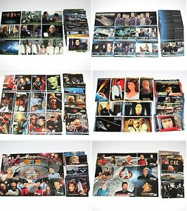 Star-Trek-Trading-Card-Sets-ENTERPRISE-DS9-Next-Generation-Motion-Pictures