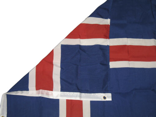 2x3 Iceland Rough Tex Knitted Flag 2/'x3/' Banner Grommets