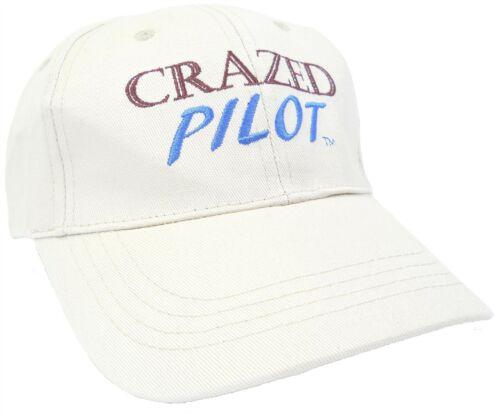 "/"" CRAZED PILOT /"" HAT Cessna Airplane Piper Aircraft"