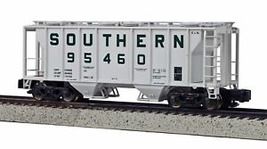 MTH-S-Scale-PS-2-Covered-2-Bay-Hopper-Southern-95462