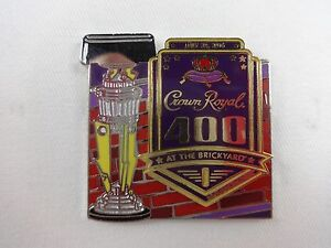 2016-Crown-Royal-400-At-the-Brickyard-Event-Trophy-Collector-Pin-Nascar-Busch
