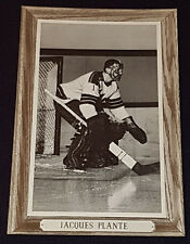 1964/67 - BEEHIVE - GROUP III - JACQUES PLANTE - NEW YORK RANGERS - NHL - PHOTO