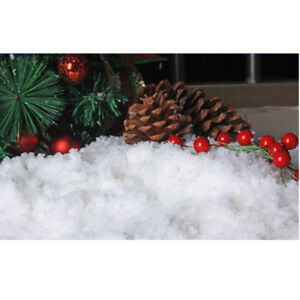 10g Festival and Party Decor Artificial Snow Powder DIY Snow Landscape Making