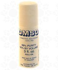 DMSO Roll on 3oz Dimethyl Sulfoxide