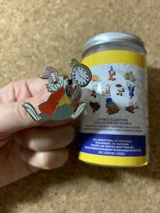 White-Rabbit-Alice-In-Wonderland-Disney-Parks-Ink-amp-Paint-Mystery-Pin