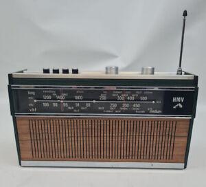 Vintage HMV Radio LW MW VHF