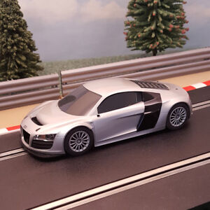 Scalextric 132 car silver audi r8 gt3 b ebay image is loading scalextric 1 32 car silver audi r8 gt3 publicscrutiny Images