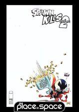 SPAWN KILLS EVERYONE TOO #2B - B&W VARIANT (WK03)