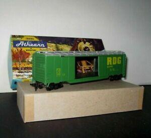Athearn-BEV-BEL-483-HO-Scale-50-039-Double-Door-Boxcar-034-R-D-G-034