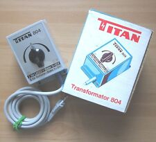 TITAN Trafo 804 LEGO für Lego-Bahn+Batterie-Bahn Transformator Fahrregler in OVP