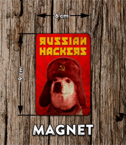 Russian hackers fridge magnet  NEW HOT SALE