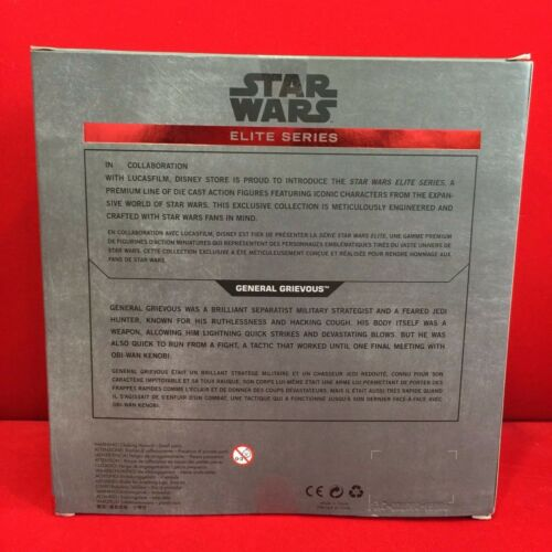 Star Wars Elite Series Action Figures Die Cast Disney Store Exclusive NIB