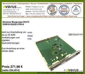 incl Siemens Baugruppe 8SLA FC S30810-Q2923-X100 // Rg MwSt.