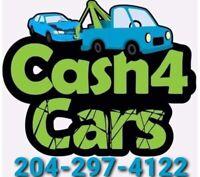 Cash 4 scrap cars $200-$8,000 CASH in 45 min $$