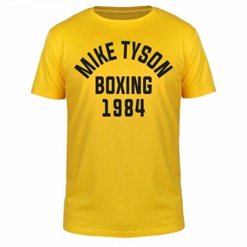 FABTEE Mike Tyson Boxing 1984 Rock Studio Fitness Gym Sport Training Shirt S-5XL