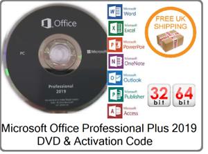New-Microsoft-Office-Pro-Professional-Plus-2019-License-Key-amp-DVD-1PC-32-64-Bit