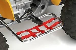 DG Krome-lite Nerf Bars w// red webbing for Honda TRX 250 EX//X; 68-2500