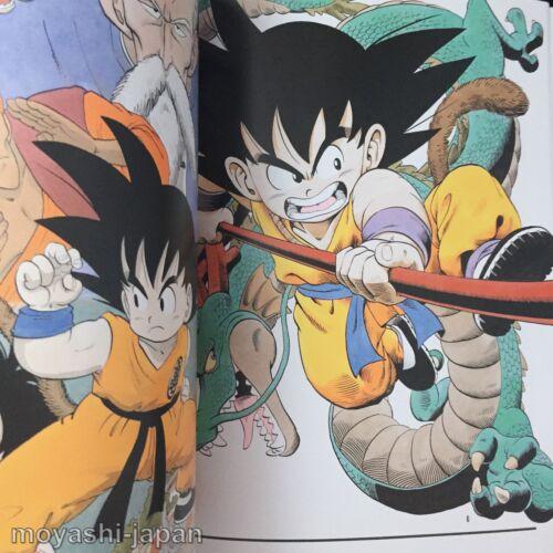 Japan New Dragon Ball Akira Toriyama Illustration Art Book The World Manga Dragonball Z Collectibles Roomburgh Nl