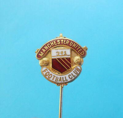 Manchester United Soccer Football Badge Logo PIN Button Emblem