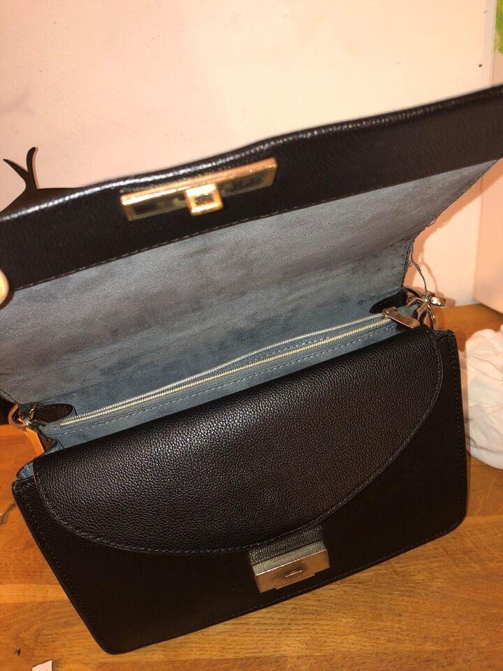 Skuldertaske, H&M, læder