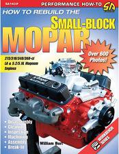How to Rebuild the Small-Block Mopar Book~273-318-340-360-5.2-5.9L Magnum~NEW!