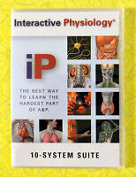 Interactive Physiology - 10-system Suite Pc Cd-rom Software A&p Health