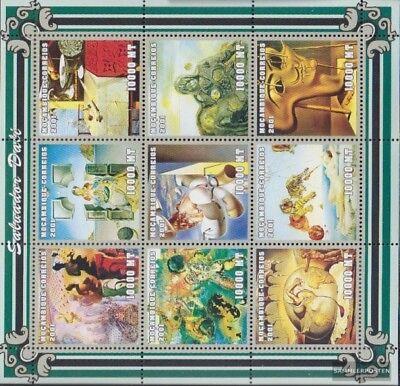 Art Never Hinged 2001 Art Good Taste Temperate Mosambik 2007-2015 Sheetlet Unmounted Mint