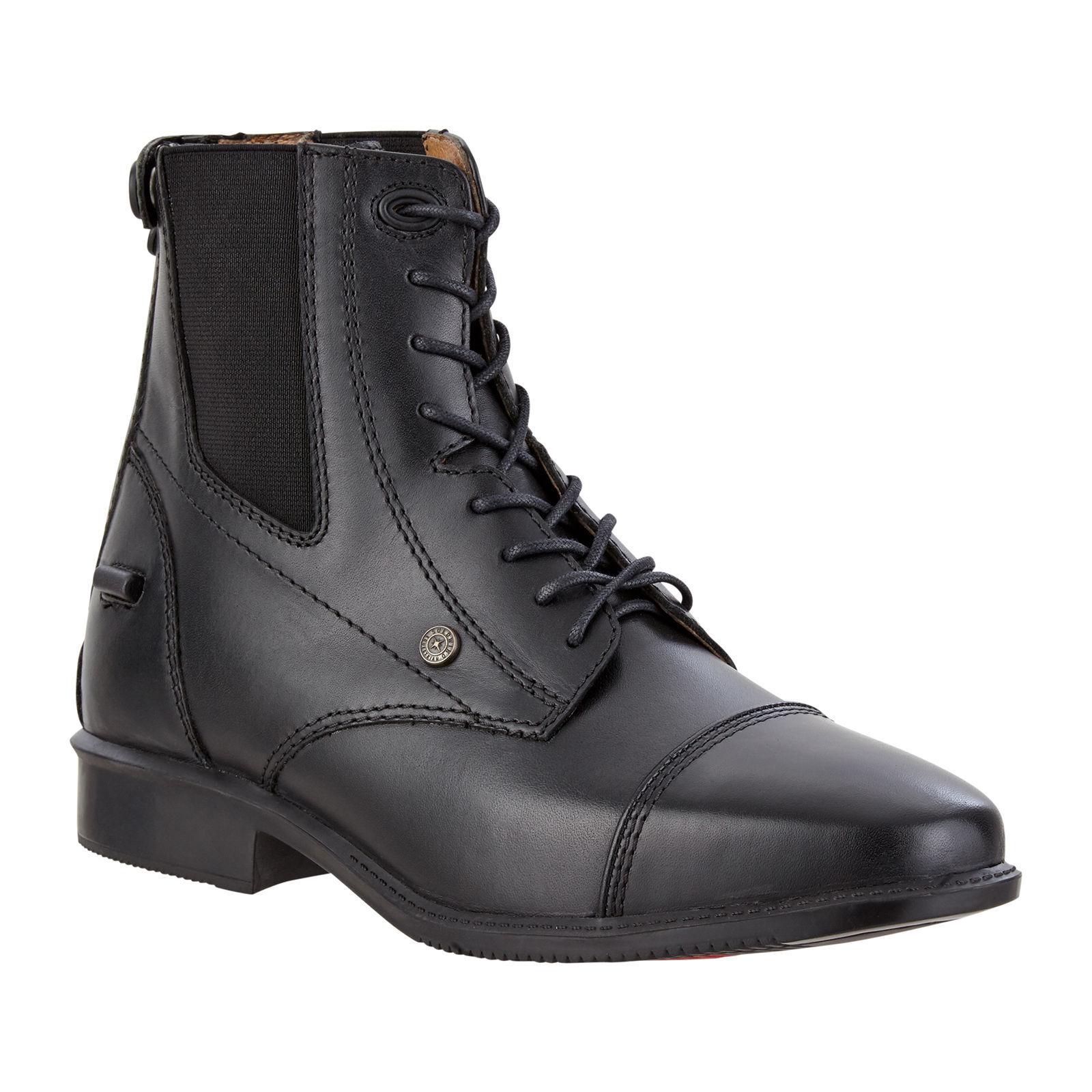 Suedwind Stivali Legacy BACK ZIP LACE NERO MONTALA stivali stivali di pelle premium