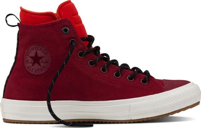 Converse Chuck Taylor All Star II Boot Hi Canvas Red Block Men s Shoes Size  11 09aba1e72d