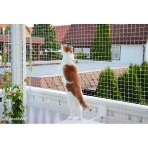 Trixie rete di protezione trasparente per balconi per gatti 2 x 1 5 mt ebay - Rete per gatti giardino ...
