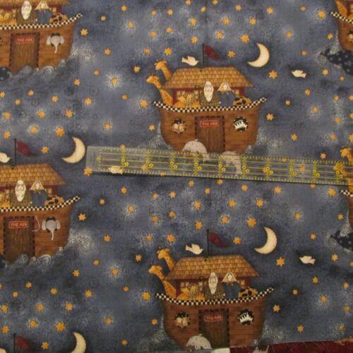 Debbie Mumm scrap piece cotton fabric remnant Noahs Ark Nursery FQ choose