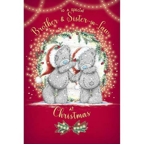 Me to You Bear Sister /& Brother Christmas Cards 2019