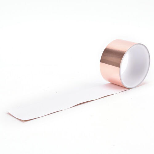 50mm x 3m EMI Copper Foil Shielding Tape Conductive Self Adhesive Barrier Guitar