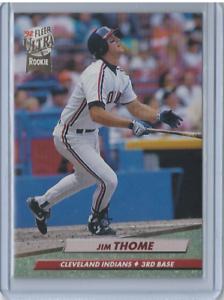 1992-Fleer-Ultra-54-Jim-Thome-RC-Indians-Phillies-HOF-Rookie
