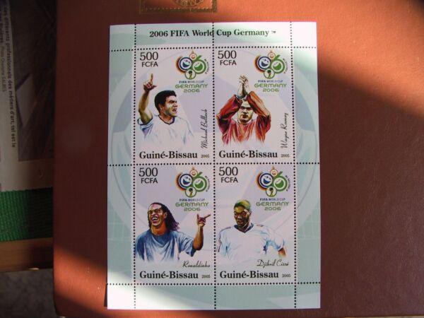 Bloc Neuf Guinee Bissau 2006 - Mint Sheet Guinee Bissau 2006