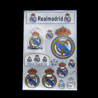 16-17 for Real Madrid soccer fans Decal Bumper Sticker car wall laptop stickers