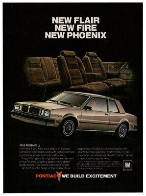 Personal Luxury with Pontiac Flair Vintage Print Ad 1984 Pontiac Grand Prix