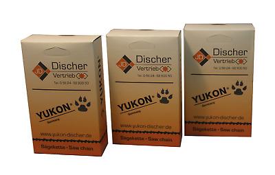 3 YUKON Sägeketten 325-1,5-64TG für 38cm Erman EM 5201 EM5201