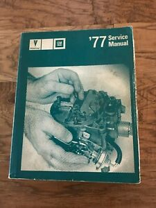 039-77-Service-Manual-Pontiac-GM-Car-Automobile-Repair-All-Components-Except-Body
