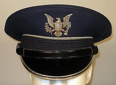 bc21925187d USAF USAFA US Air Force Academy Cadet Service Dress Blues Hat Cap 7 1 4