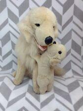 "E&J Classic 20"" Golden Retriever Mom Baby Realistic Puppy Dog Plush Stuffed Anim"