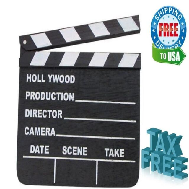 4//8//12//16 Inflatable 43x34cm Clapper Board Movie Film Director Prop Scene Setter